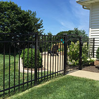 Residential Ornamental Fence
