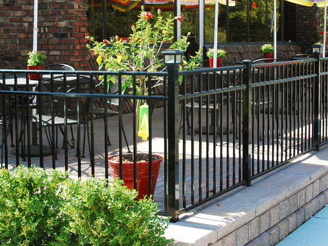 Southway fence company commercial ornamental