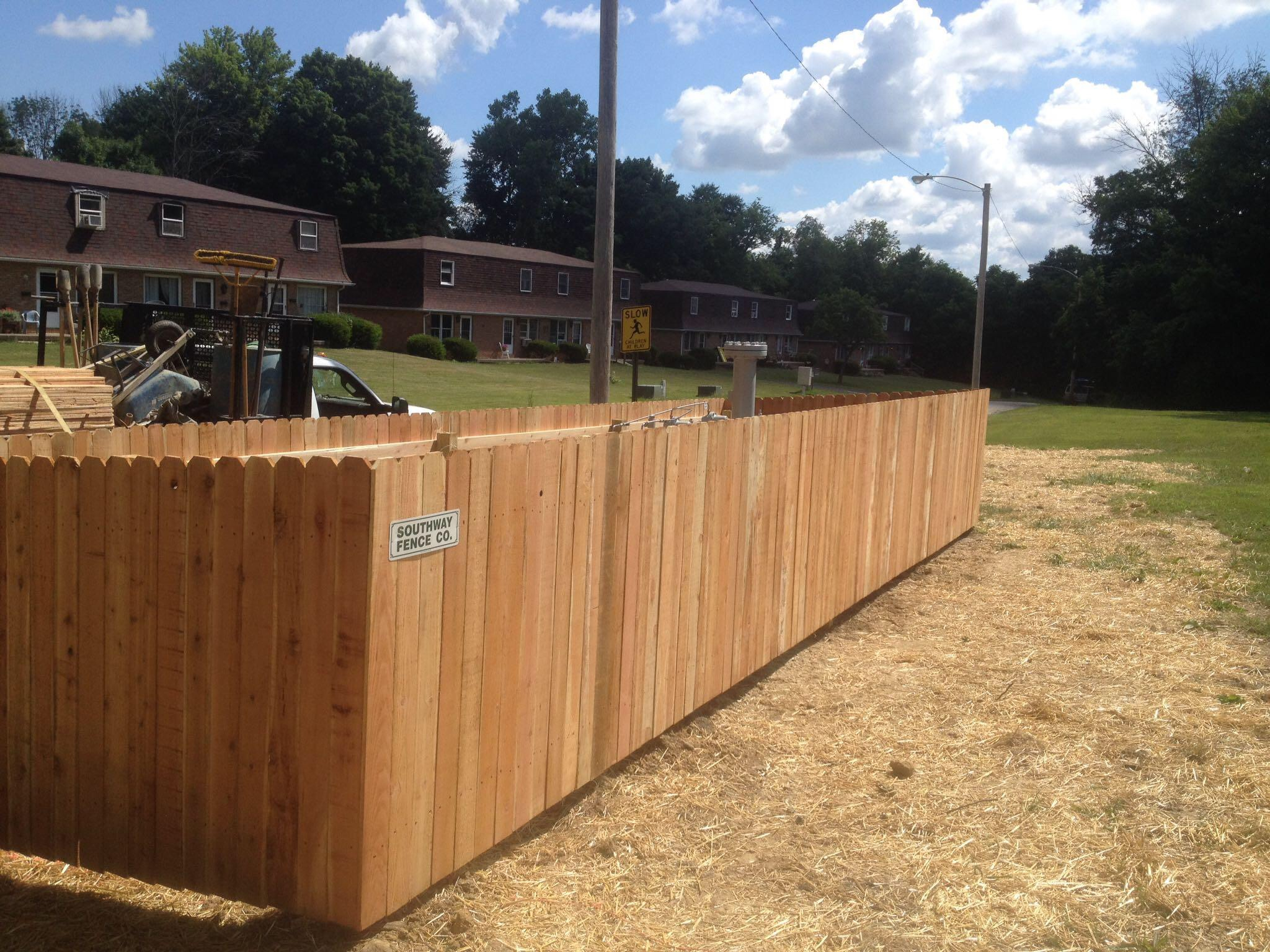 Southway fence company commercial wood fence back to top baanklon Images
