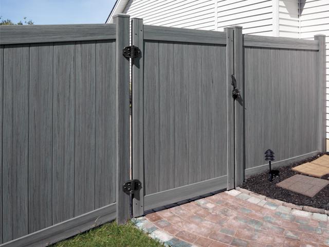 Southway fence company industrial vinyl fencing